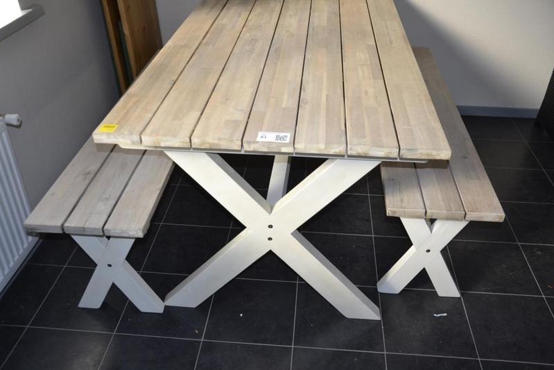 ≥ tuintafel met stoelen en bank tuinmeubelen marktplaats